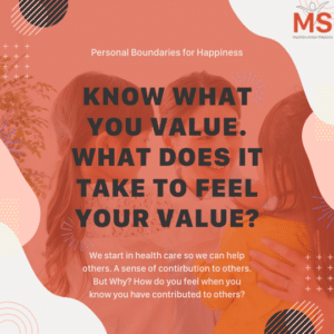 How do you experience your values